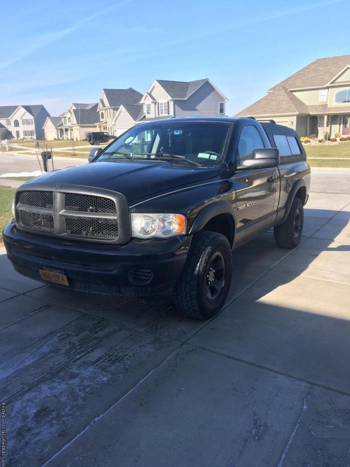 2005 Black Dodge Ram