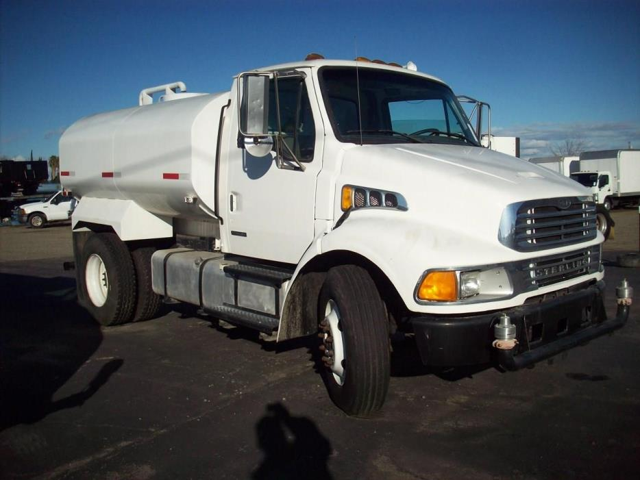 2009 Sterling Acterra  Water Truck