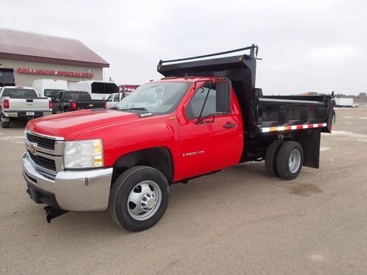 2009 Chevrolet Silverado 3500hd 4x4 Dump Dump Truck