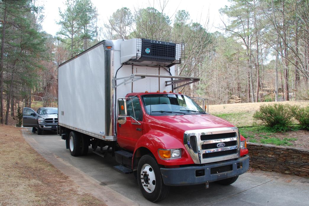 2005 Ford F750  Refrigerated Truck