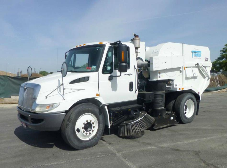 2008 International 4300 Tymco 600bah Regenerative Air Sweeper  Sweeper