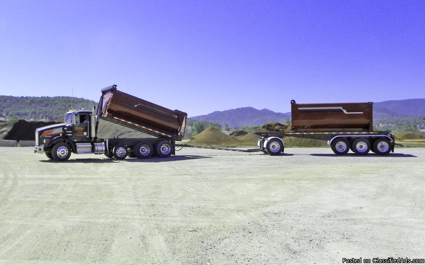 Contact us to finance your next dump truck or dump trailer