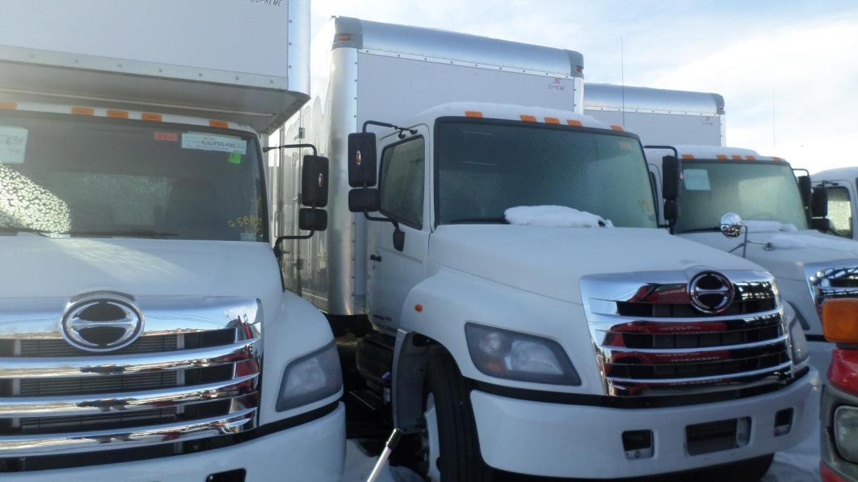 2017 Hino 338  Box Truck - Straight Truck
