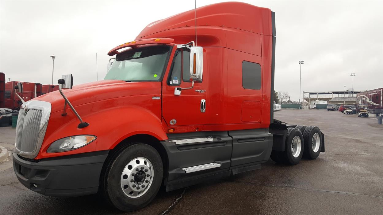 2014 International Prostar + Eagle  Conventional - Sleeper Truck