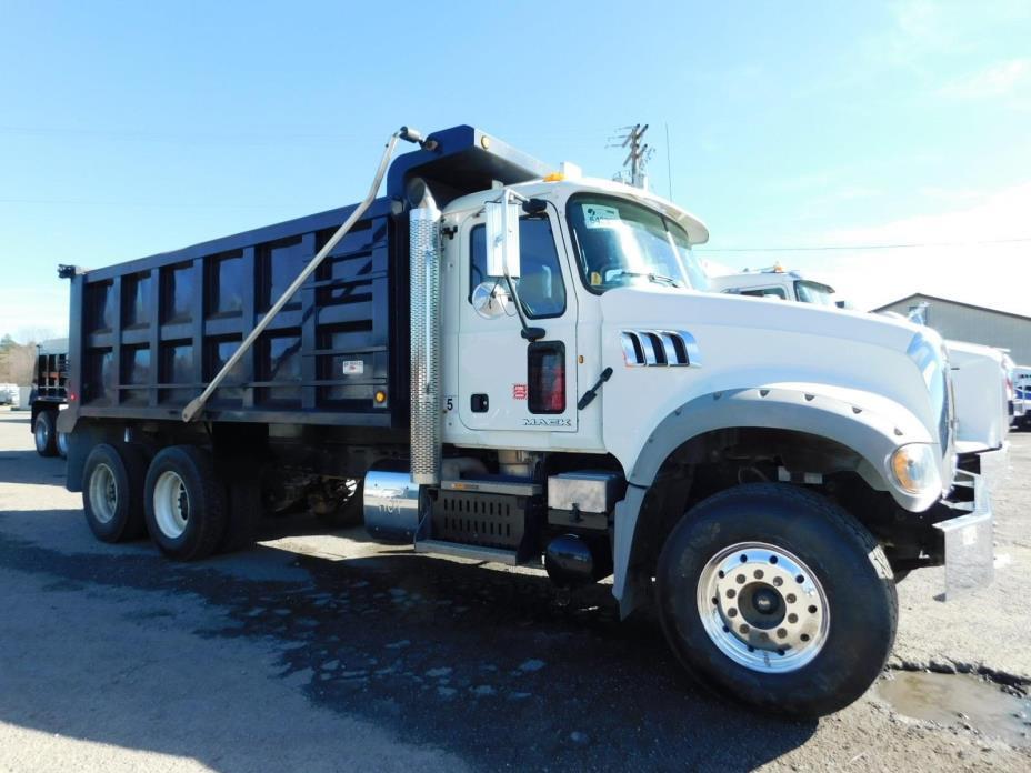 2014 Mack Granite Gu713 Dump Truck