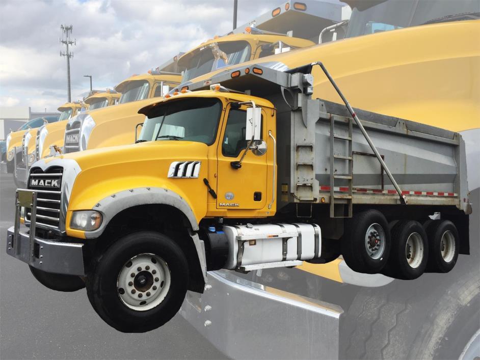 2013 Mack Granite Gu713 Dump Truck