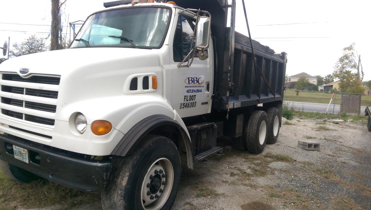 2000 Sterling L7501 Dump Truck