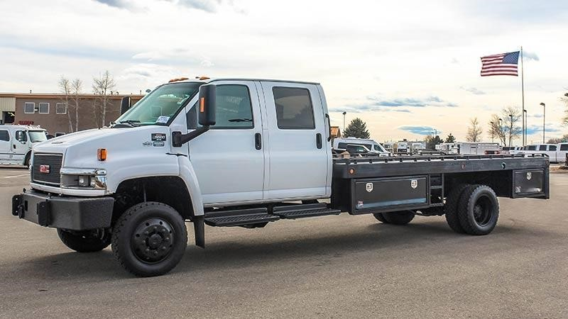 2008 Gmc C5500 Flatbed Truck