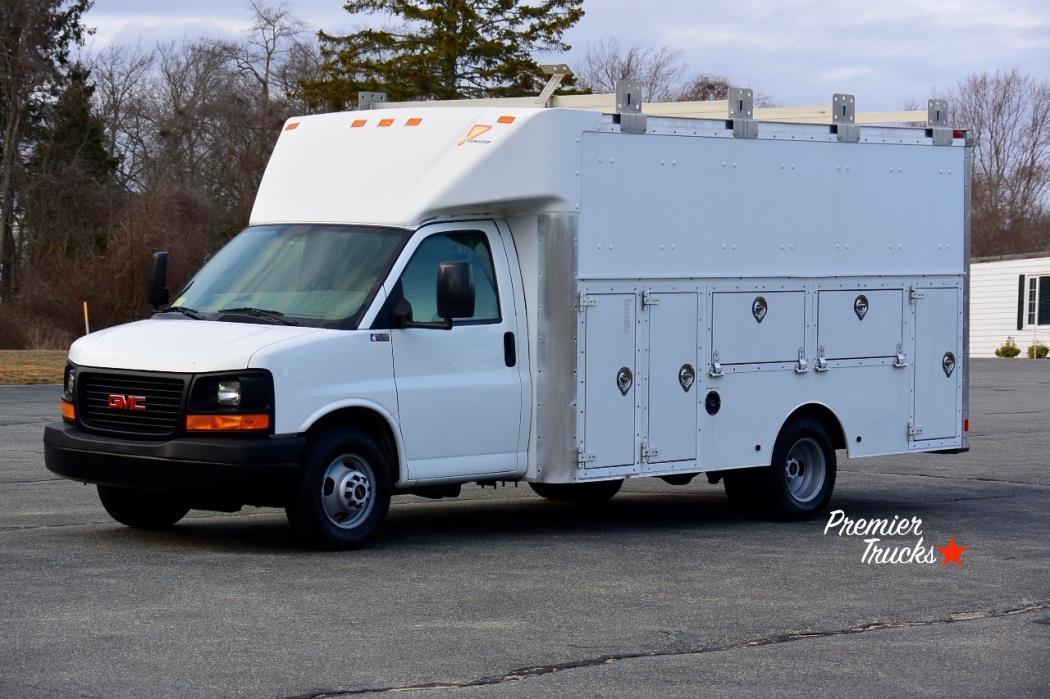 2008 Gmc Savana Cutaway Utility Truck - Service Truck