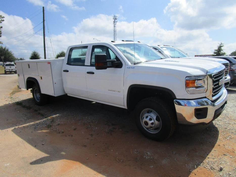 2016 Gmc Sierra 3500 Hd  Mechanics Truck