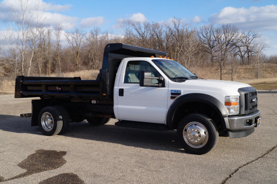 2008 Ford F550  Contractor Truck