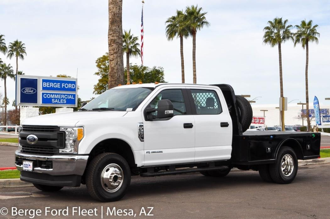 2017 Ford F350  Flatbed Truck