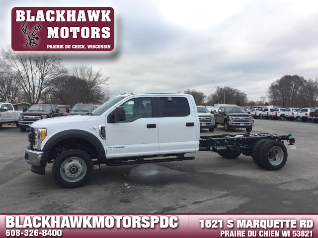 2017 Ford F-550  Cab Chassis