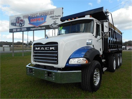 2007 Mack Granite Ct713 Dump Truck