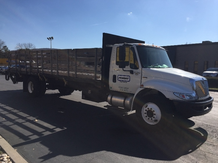 2012 International Durastar 4300 Flatbed Truck