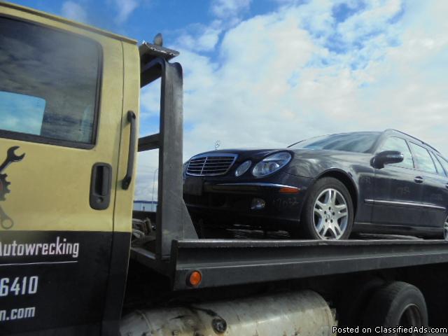 Parting out - 2004 Mercedes E - Blue - Parts - 17032