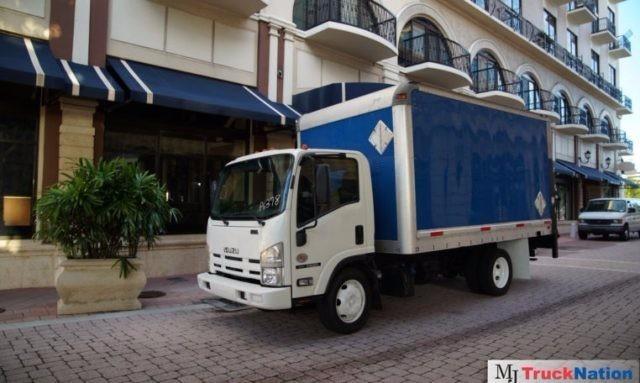 2012 Isuzu Nqr  Box Truck - Straight Truck