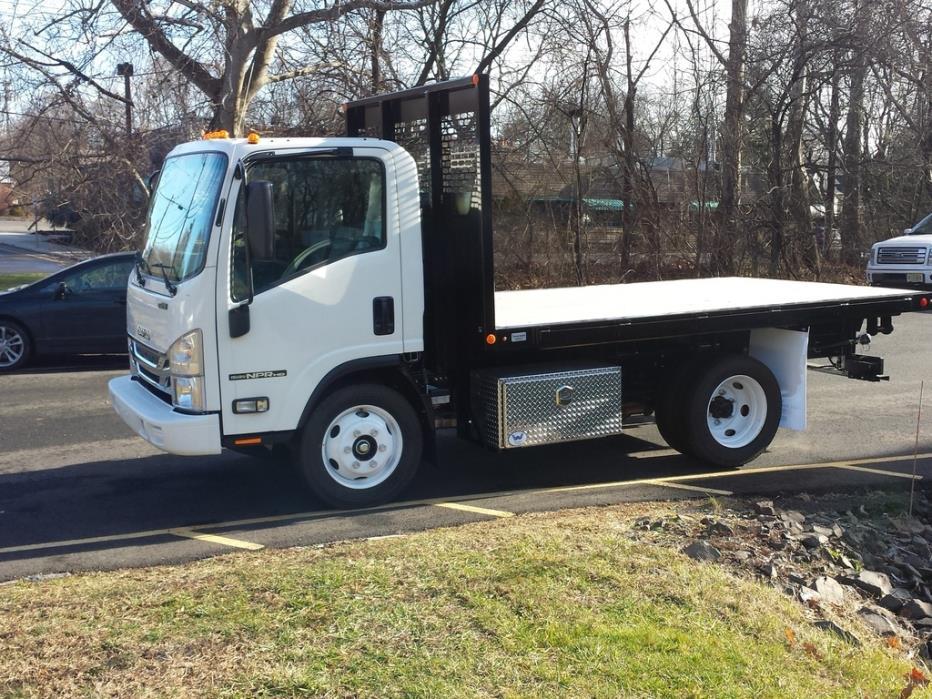 2016 Isuzu Npr-Hd Flatbed Truck