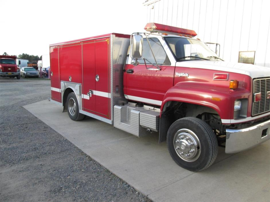 1996 Gmc Topkick C6500 Fire Truck