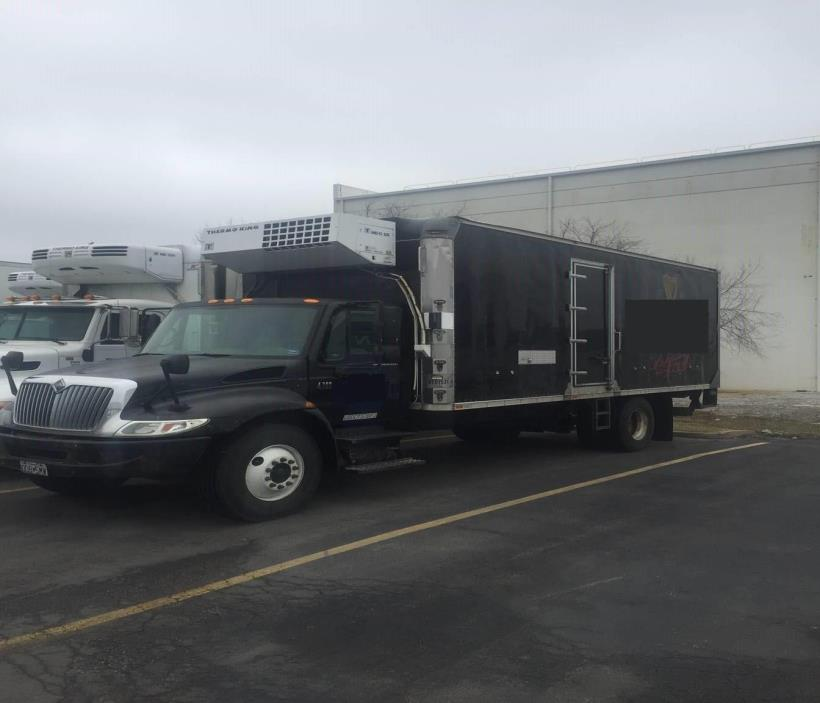 2004 International Durastar 4300  Refrigerated Truck