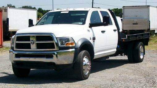 2012 Ram 4500 Flatbed Flatbed Truck