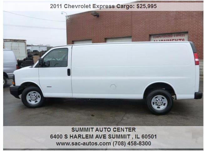 2011 Chevrolet Express 3500 Cargo Van