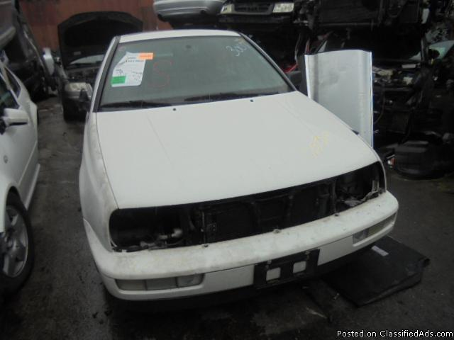 Parting out - 1997 VW Jetta - White - Parts - 17030