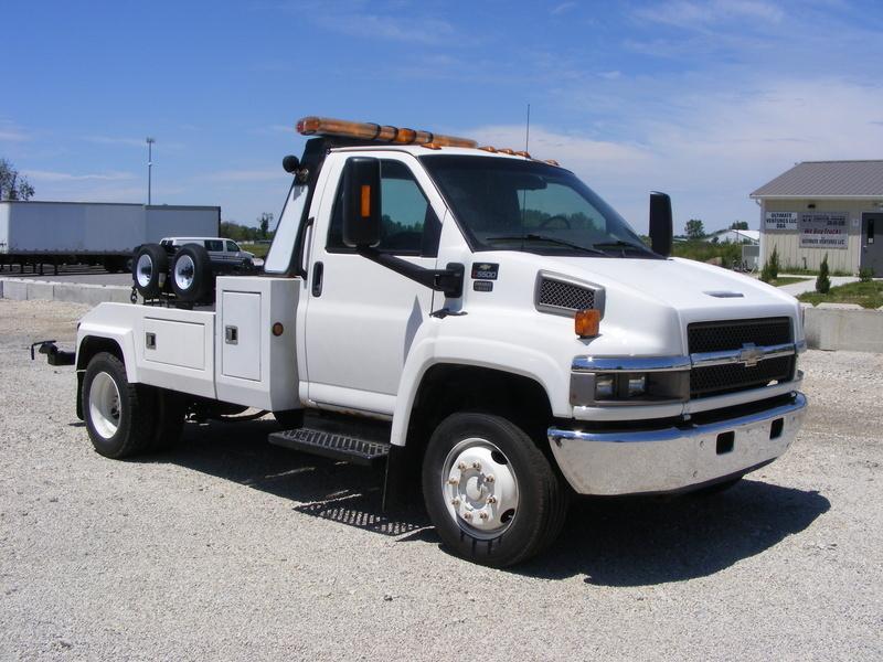 2006 Chevrolet C5500 Wrecker Tow Truck