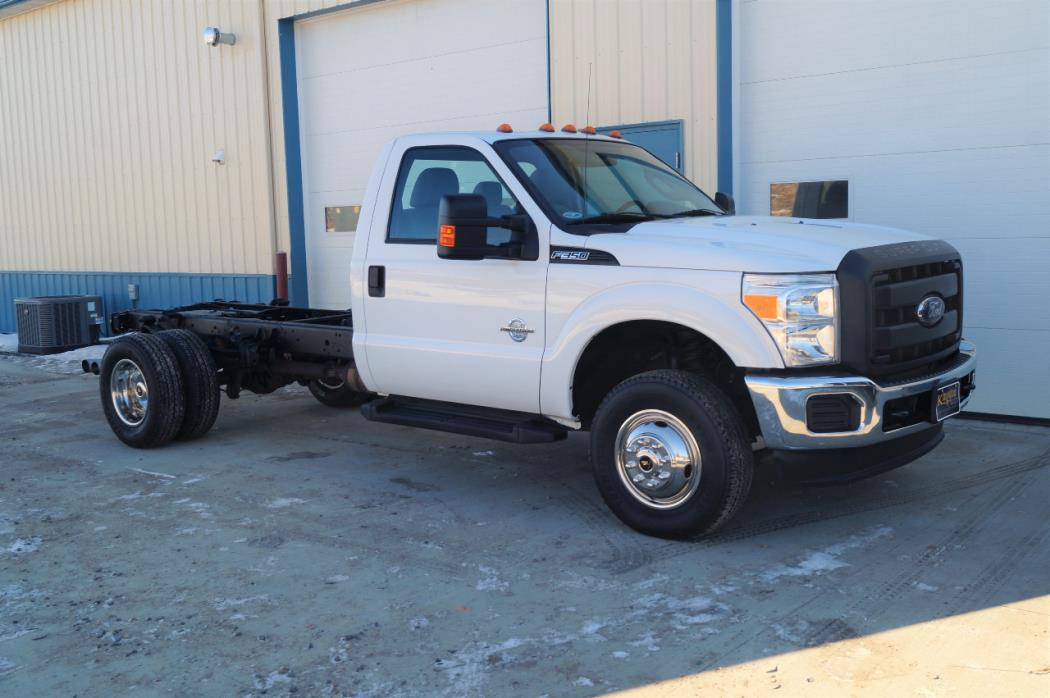 2012 Ford F350  Cab Chassis