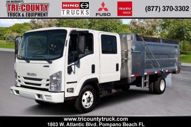 2016 Isuzu 14' Aluminum Land Dump Crew Cab Dump Truck