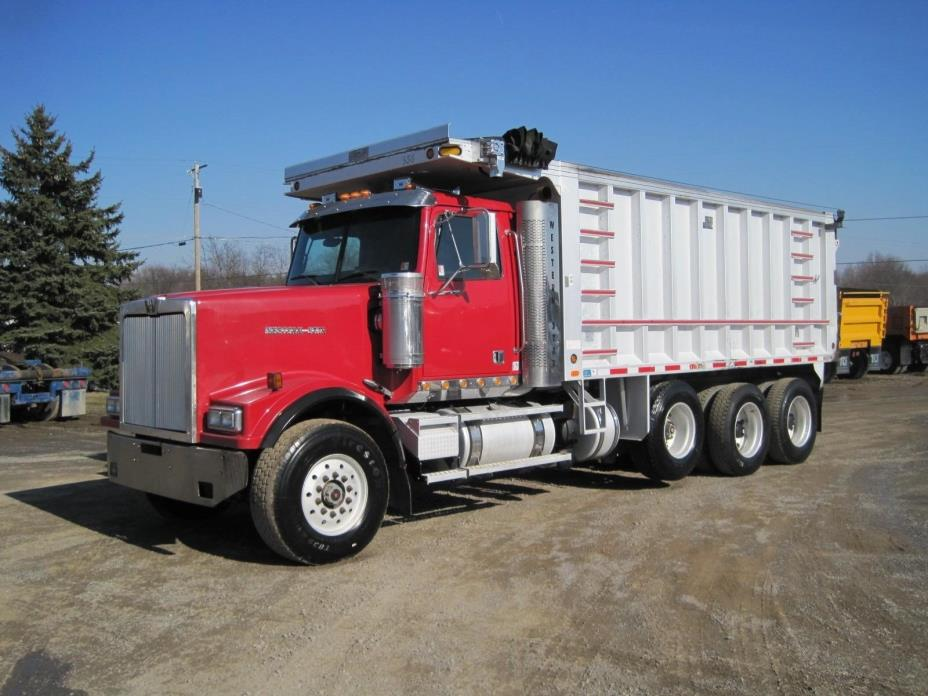 2007 Western Star 4900fa  Dump Truck