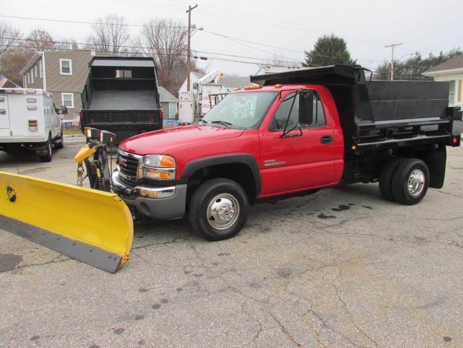 2005 Gmc 3500 Sl  Dump Truck