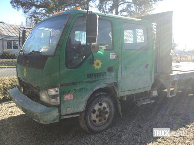 2007 Gmc W4500  Flatbed Truck