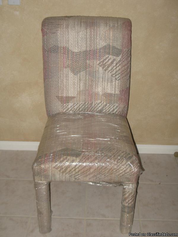 Custom-Made Dining Chairs (6)