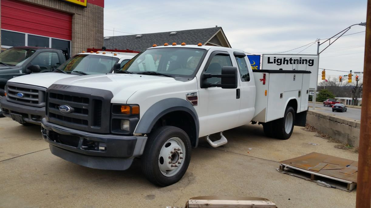 2008 Ford F450 Utility Truck - Service Truck, 3