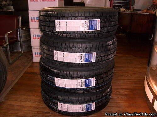 4 15 inch bf goodrich tires