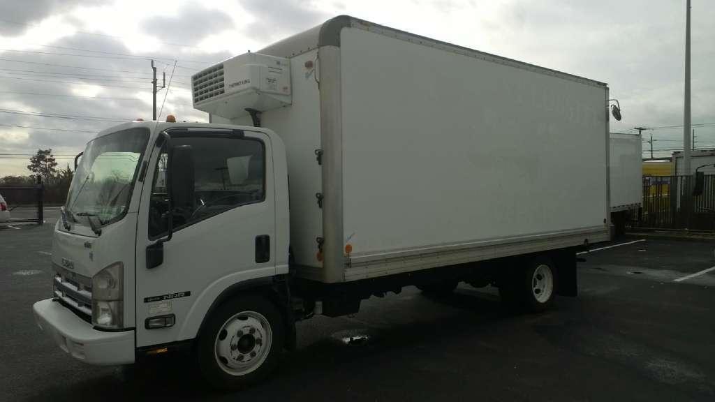 2008 Isuzu Nrr Diesel  Box Truck - Straight Truck