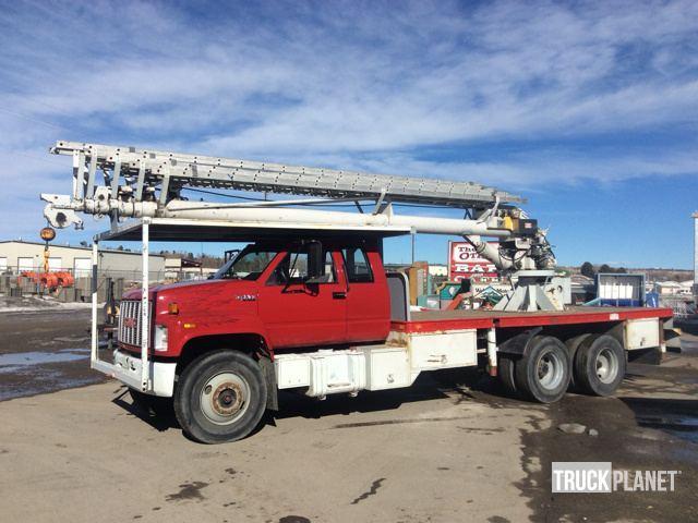 Gmc Top Kick Bucket Truck - Boom Truck