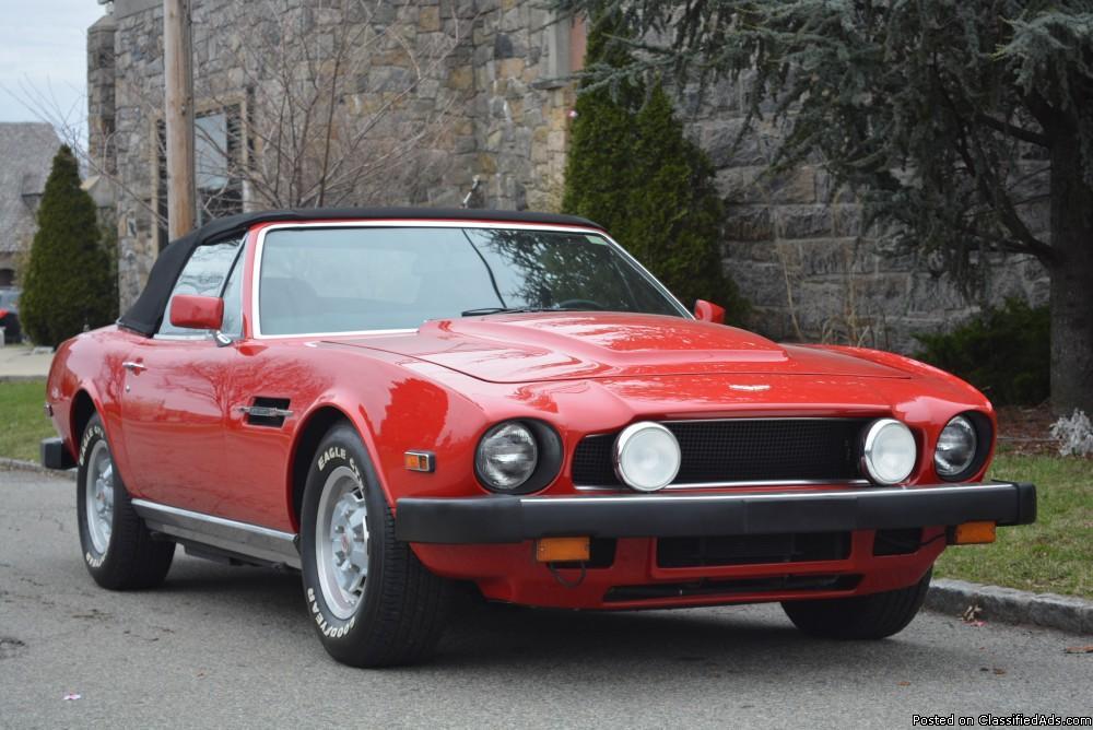 1980 Aston Martin V8 Volante # 20125
