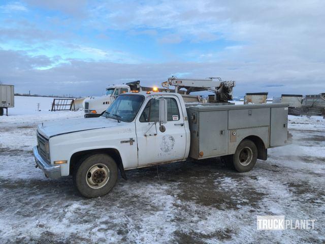 1985 Chevrolet Scottsdale 30 Utility Truck - Service Truck