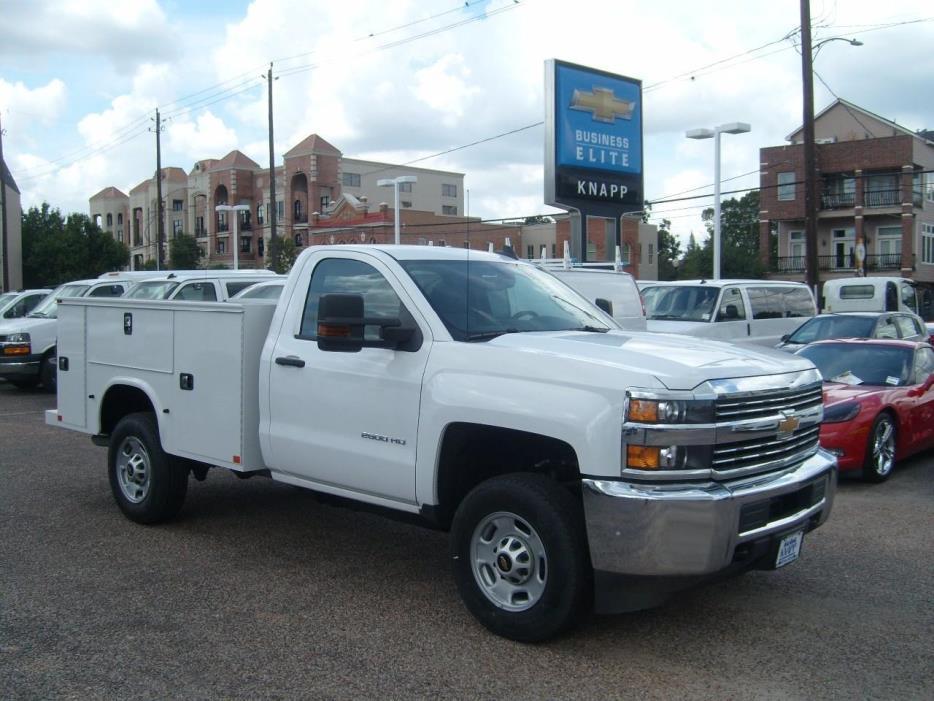 2017 Chevrolet Silverado 2500hd  Utility Truck - Service Truck