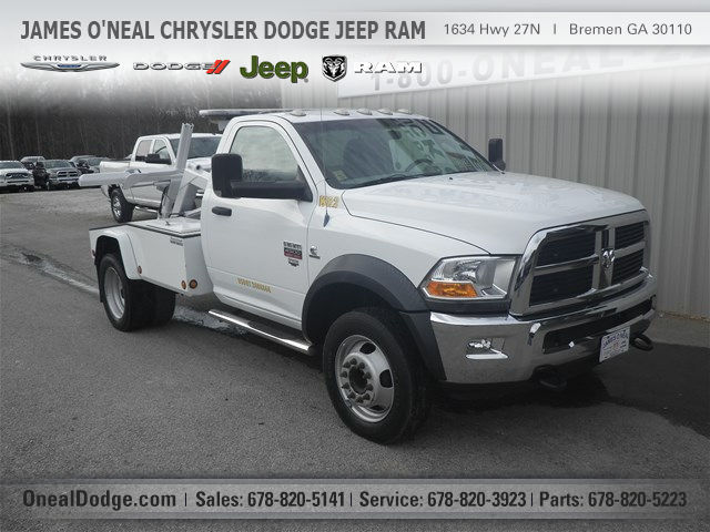 2012 Ram 4500 Hd Cab Chassis