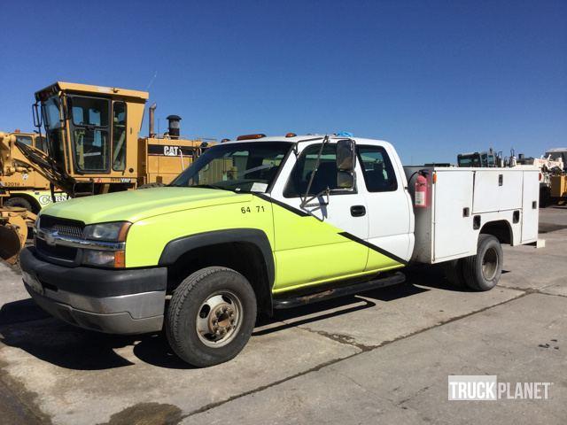 2003 Chevrolet Silverado 3500 Utility Truck - Service Truck