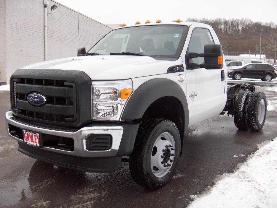 2016 Ford F550 Dump Truck