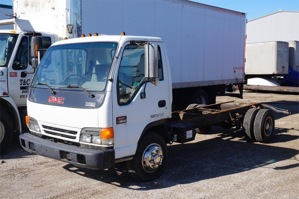 2003 Gmc W4500 Cab Chassis