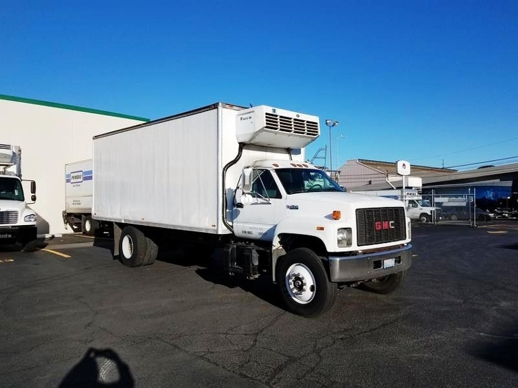 1999 Gmc C7500 Refrigerated Truck