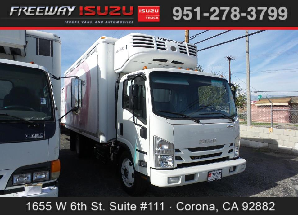2017 Isuzu Nrr Dsl Reg At  Refrigerated Truck