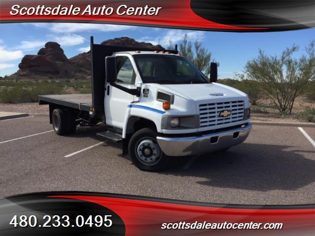 2003 Chevrolet C5500  Flatbed Truck
