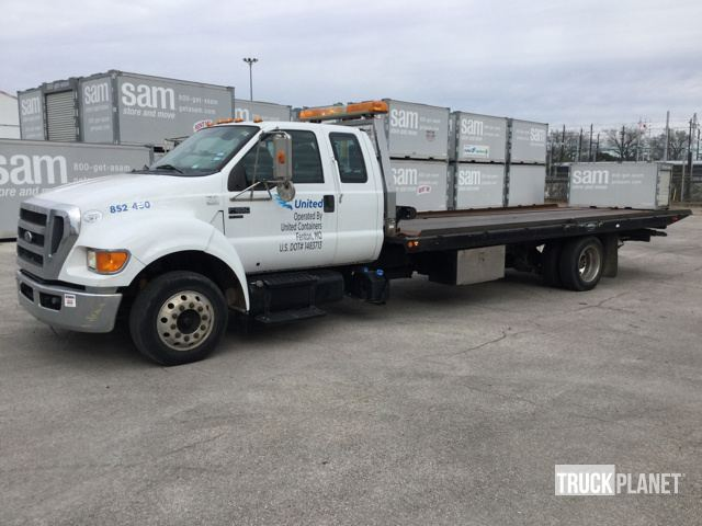 2011 Ford F-650 Super Duty  Wrecker Tow Truck