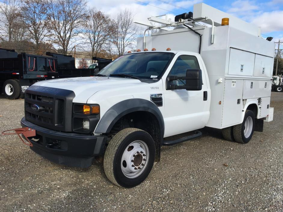 2010 Ford F-550  Utility Truck - Service Truck